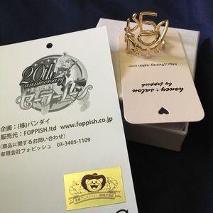 Sailor Moon x Honey Salon Senshi Ring sz 5
